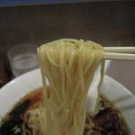 湯島らーめん - 湯島らーめんの麺