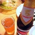 サイゴン・レストラン - サイゴンビール¥600超すくい下げ