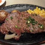 バンビ - サーロインステーキ鉄板焼 (再送)