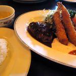 グリル&洋食 アガペ - Aランチとスープとライス