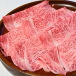 天山 - しゃぶしゃぶ 吉コース(お肉)