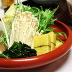 天山 - しゃぶしゃぶ 吉コース(野菜)