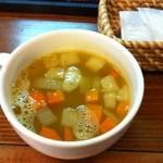 グッドウッドテラス - 3回目7/257/25ランチスープ