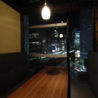 夜景の見える個室は必見!ご宴会やご接待等にどうぞ。