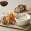 チャウダーズ カフェ - 料理写真:チャウダーズセット 980円 (お好きなスープSサイズ+デリ1品+トマトライスorバケット+ドリンク)