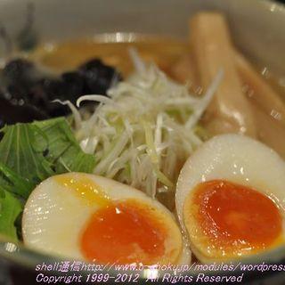 いち井 - 料理写真:塩 +味玉