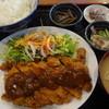 海幸 - 料理写真:チキンカツ定食:700円
