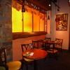 LA COMODITA - 内観写真:オレンジのガラスが生み出す空間はとってもおしゃれ☆