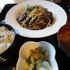 心酒食彩心風 - 料理写真:レバニラ定食。