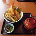 和食さと - 料理写真:にぎわい海老天丼
