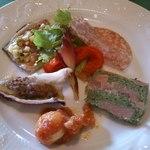 アラペサ - Aランチの小さな前菜