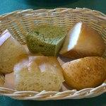 アラペサ - Aランチにプラス300円でパン(2人分位)