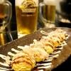居酒屋 ひょっとこ - 料理写真:ビールにも良く合います、人気ナンバーワンのひょっとこ焼