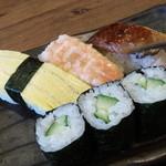 天山の湯 だいにんぐ - 天山の湯だいにんぐの銀閣の寿司(11.12)