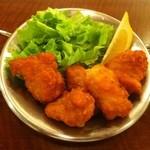 イナズマ カフェ - 鳥の唐揚げ(450円)