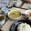 タンタワン - 料理写真:ランチセット(グリーンカレーとトムヤムクン)