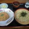 坦坦 - 料理写真:ラーメンと小炒飯セット 870円