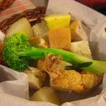 ちーず亭 - チーズフォンデュの野菜