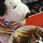 炭火焼肉 てんぐ - お肉やわらかい〜!