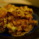 おず smoked和taste - 燻製とうきびと魚介のかき揚げ