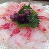 京都山科の里 西仁 - 料理写真:アコウの薄造り
