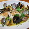 タベルナラーモ - 料理写真:当店自慢のアクアパッツァ その日の旬魚を用います 様々な食材のエキスがしみ出したスープも絶品です! ¥1600~