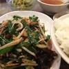 盛龍飯店 - 料理写真:ニラレバ定食!