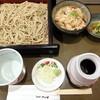 そば切り さか田 - 料理写真:せいろ(580円)と炊き込みご飯(180円)