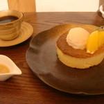 雪ノ下 - バレンシアオレンジのパンケーキ