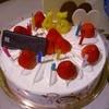 シャトレーゼ - 料理写真:誕生ケーキ