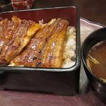 うなぎや - 料理写真:上うな重 1800円(24年7月)