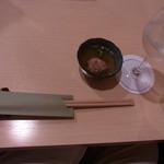 ふく田 - テーブルセッティング