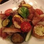 プラセボ - 夏野菜のグリル(料理は基本的に日替りです)