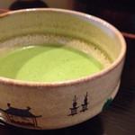 萬御菓子誂處 樫舎 - お抹茶