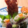 魚将 さかなちゃん - 料理写真:【セミ海老】地元甑島列島産。伊勢海老とはひとあじ違う食感、入荷を待っている常連さんがいるほど。