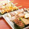 やきとり 戎 - 料理写真:噛み締めるほどに旨味が広がる 比内地鶏串&イベリコ串!