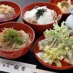 徳善院蕎麦 極意 - 料理写真:季節のお楽しみ膳1340円(毎日内容が変わる自慢のお膳)