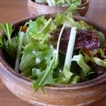 アイリーカレーハウス - セットのサラダ