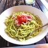花HANA食堂 - 料理写真:長命草のジェノベーゼ風パスタ