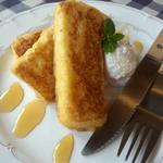 エクスペリエンス カフェ - メープルフレンチトースト