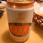 サイゴン・レストラン - ビールはベトナムビール