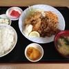 萬福 - 料理写真:ある日の日替わり定食。カキフライがウマー