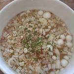 ニロ カフェ - ランチセットのスープ