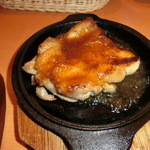 インドレストラン ナンハウス - チキンステーキセット(1250円)のチキン