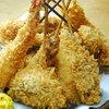 居酒屋 神田っ子 - 料理写真:一番人気、アツアツ揚げたての串揚げです!