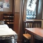 魚と酒 はなたれ - 201208 はなたれ 入り口入って右手.jpg