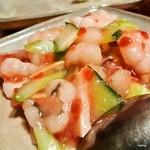 点 - ハモの梅肉炒め