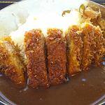 諏訪湖サービスエリア上り線 ブライトンフードコート - カツカレー丼(大盛り)880円