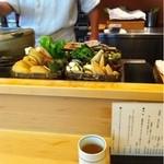天ぷら懐石 いせ - 食材
