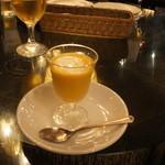 KITCHEN BAR 新目黒茶屋 - カボチャの冷製スープ